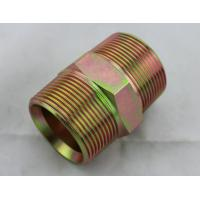 Quality Straight Carbon Steel NPT Male Hydraulic Adapter Hydraulic Hose Pipe Fittings wholesale