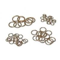 China Brazing alloys Flat Square or sliver Aluminum copper and Welding Rods Ring B1R036 Silver Brazing Alloy Ring ring Refrige on sale