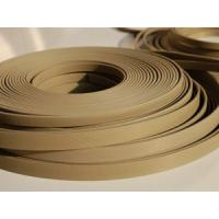 Quality PTFE Packing Guide Stripe Tape (GST) , Thickness 0.8mm , 1.0mm , 1.5mm With Brown Color wholesale