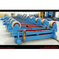 Quality Automatic Pipe Welding Rotator Vessel Welding Turning Bed With Rubber Roller wholesale