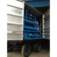 Quality Mobile Transformer Oil Purification Plant,transformer oil filtering machine wholesale