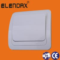 Buy cheap European style flush mounting one gang one way wall switch (F2001) from wholesalers