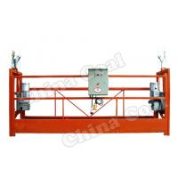 China ZLP630 Mast climbing work platform/ hanging platform/wire rope suspended platform on sale