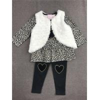 China Spandex Cute Baby Winter Clothes , 3 Pcs Vest Set Knitted Baby Clothes Coats on sale