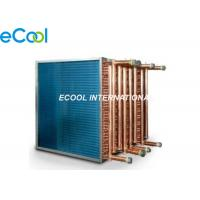Quality Custom Air Cooled Cooling Coil /  Condenser Or Evaporator Parts Fin And Tube Evaporator wholesale