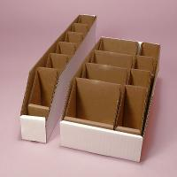 Quality Small Parts Bin with Dividers Corrugate Box wholesale
