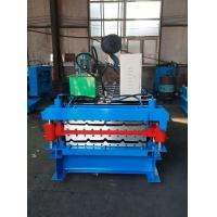 China Double Layer IBR Channel Roll Forming Machine Computer Control 380v 50hz 3 Phase on sale