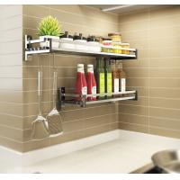 China Simple Houseware Wall Mounted Kitchen Rack Innovative Design For Heavy Loads on sale