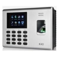China K40 Excell Report Biometric Fingerprint Time Attendance on sale