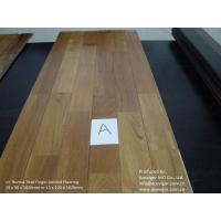 Quality Burma Teak Finger-Jointed Flooring wholesale