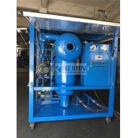 Quality Weather Proof Type Vacuum Processing Transformer Oil Purifier Dewater and Degas from Oil wholesale