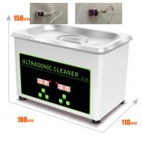 Quality 800ml Stainless Steel Ultrasonic Jewelry Cleaner Eyeglasses Watch CD Record Disks Washing wholesale
