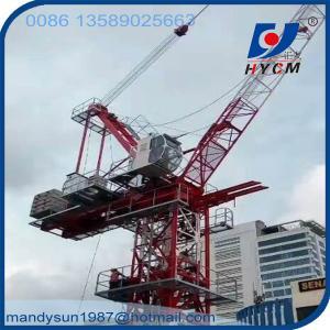 Quality VFD Luffing Jib Tower Crane QTD260(6029) 16 ton 60m Jib Crane wholesale