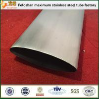 Quality Modern Building Design Stainless Steel Eliptical Pipe Stainless Steel Section Tube wholesale