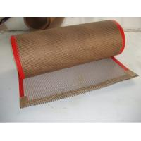 China Softness PTFE Conveyor Belts , Teflon Coated Belts For Drying ISO SGS Certificate on sale