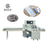 Quality Wooden Box Rotary Pillow Wrapping Machine Electrical Driven Razor Shaver Pack wholesale