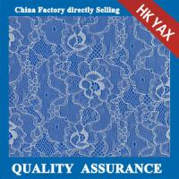 Cheap 2014 china factory price hot selling New coming white flower elasticity voile lace fabric YAXL-3322 for sale
