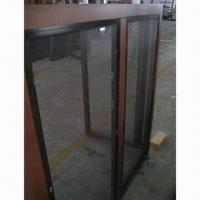 Buy cheap Solid wood windows with aluminum mosquito screen outside from wholesalers