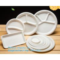 Quality Biodegradable Disposable Sugarcane Bagasse Party Plate,Eco-friendly sugarcane bagasse paper plate/disposable compostable wholesale