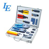 Quality LE-K4015 Network Wiring Tools Kit Set Of Crimp Punch Strip Cut Tool Tester wholesale