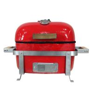 Quality 18 inch square kamado grill ceramic bbq grill kamado charcoal bbq grill wholesale