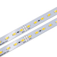 China DC 24V Rigid LED Strip PCB Board Module with SMD 5630 LEDs for Shelves or Counters Lighting on sale