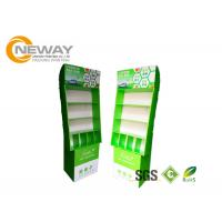 Quality Free Standing POS Cardboard Advertising Displays With Pegs For Small Items wholesale