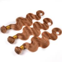 China 100% Virgin Ombre Hair Weave Body Wave Brown Color Free Shipping on sale