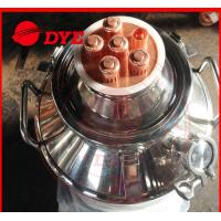 Quality Small Home Distilling Equipment With Reflux Dephlegmator 50L - 200L wholesale