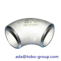 Quality ASTM A403 WP321 / H Butt Weld Fittings Long Radius 90 Degree Elbow wholesale