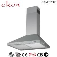 Quality CE CB SAA GS Approved 60cm Wall Mount Stainless Steel Chimney Cooker Hood wholesale