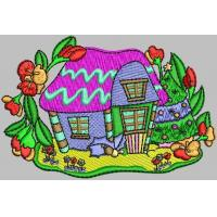 Quality  For Garments, Hats and Bags,embroidery Digitizing Logo on twill, more Colors, 10cm*7cm wholesale