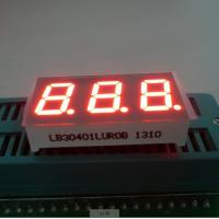 Quality Triple Digit 7 Segment LED Digital Display For Instrument Panel Indicator 0.40 inch wholesale