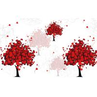 Quality Love Tree Bamboo Fiber Board Moisture Proof 3D 4D 5D Patterns 320cm X 200cm wholesale