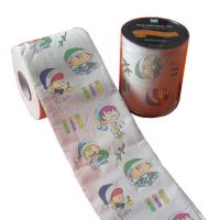 Quality custom design printed toilet paper 2ply 250 sheets 100% virgin pulp China supplier wholesale