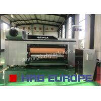China Automatic 5 Colors Flexo Printer Slotter Die Cutter High Definition For Carton Box on sale