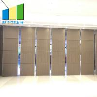 Quality Meeting Room Soundproof Movable Partition Door Suspend Acoustic Operable Wall wholesale
