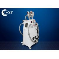 Quality Non - Invasive 4 Handle Cryolipolysis Slimming Machine With RF Cavitation wholesale
