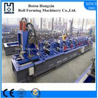 Quality Steel CZ Purlin Roll Forming Machine For Roofing Sheet ISO Approval wholesale