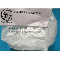China 99.9% Purity 1165910-22-4 Lgd-4033/LGD 4033 White Crystalline Powder For Body Building Sarms on sale