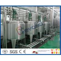 China 3000 - 20000BPH Beverage Production Line with SUS304 SUS316 Stainless Steel on sale