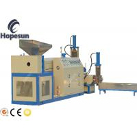 China Plastic Granules Manufacturing Machine PP PE Recycling Noodle Cutting on sale