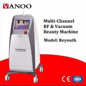 Quality Classical Vacuum Rf Tripolar Cavitation Machine , Multifunction Beauty Equipment From VANOO wholesale