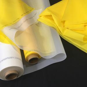China High Tension Polyester Screen Printing Mesh , Silk Screen Printing Materials on sale