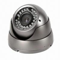 China Vandal-resistant Dome CCD Security Camera with Auto gain control  on sale