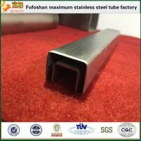 Cheap 304 Special Square Stainless Steel Slotted Tube Supplier for sale