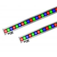 Quality 500mm / 1000mm 18W Color Changing RGB Led Light Bar, IP65 Led Wall Washer wholesale