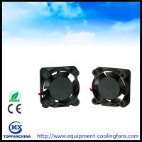 Quality Notebook CPU Cooling Fan , Small DC 5V 12V Cooling Motor Fan 25 x 25 x 10mm wholesale