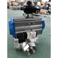 China Pneumatic Actuator Ball Valve Manufacturers on sale