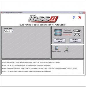 China Isuzu IDSS II 2016 - Isuzu Diagnostic Service System+license for many PC on sale